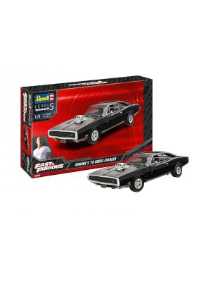 Revell 07693, Fast & Furious, Dominics 1970 Dodge Charger, 1:25, 4009803076935