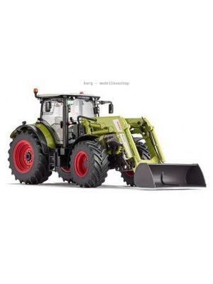 077325 Wiking, Die-Cast Modell, 1:32, Claas Arion 650 mit Frontlader, 4006190773256