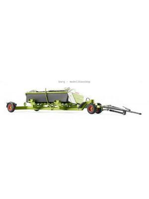 077825 Wiking Die-Cast Modell, Claas Direct Disc 520 mit Schneidwerkwagen zu Claas Häcksler Jaguar, 4006190778251