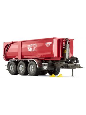 Wiking 077826, Krampe Hakenlift THL 30 L, Abrollcontainer Big Body 750, 1:32, 4006190778268