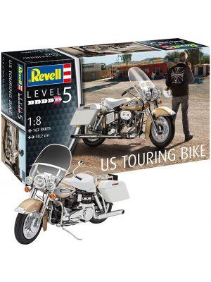 Revell 07937, US Touring Bike, 1:8, 4009803079370