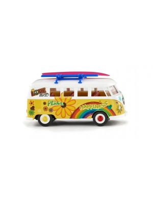 Wiking 079725, VW T1 Bus, Flower Power, 1:87, 4006190797252