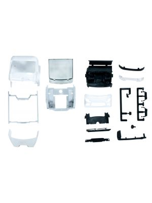 Herpa Zubehör 083638, Fahrerhaus Mercedes-Benz Actros Streamspace 2.3, Windleitblech, Chassisverkleidung, 1:87, 4013150083638