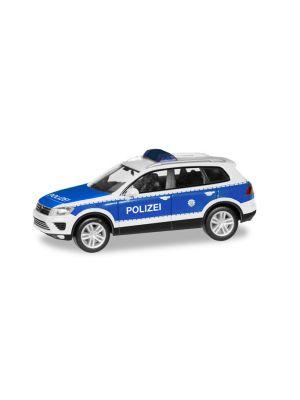 Herpa 093637, VW Touareg, Bundespolizei, 1:87, 4013150093637