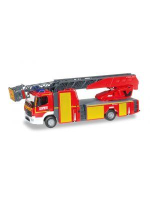 Herpa 095679, Mercedes-Benz Atego 2013 Drehleiter, Feuerwehr Mulhouse, 1:87, 4013150095679