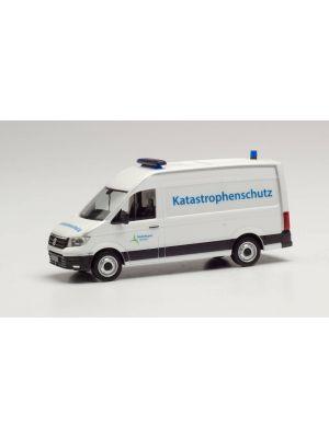 Herpa 095754, VW Crafter Kasten Hochdach, Katastrophenschutz Städteregion Aachen, 1:87, 4013150095754