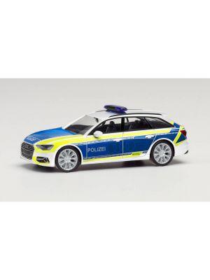 Herpa 096058, Audi A6 Avant, Polizei, Audi Vorführfahrzeug, 1:87, 4013150096058