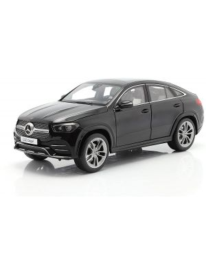 iScale 118000000050, Mercedes-Benz GLE Coupe, obsidian schwarz metallic, 1:18, 0748723950553