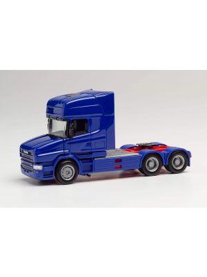 Herpa 151726-007, Scania Hauber TL 6x4 Zugmaschine, ultramarinblau, 1:87, 4013150349604