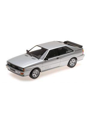 Minichamps 155016122, Audi Quattro 1980, silber, Limited Edition, 1:18