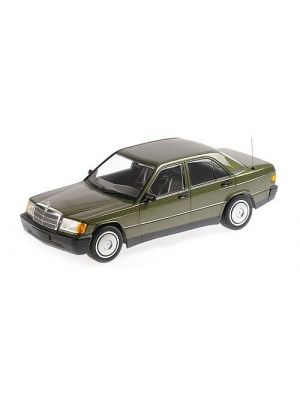 Minichamps 155037001, Mercedes Benz 190E (W201), 1982, grün metallic, 1:18, 4012138153431