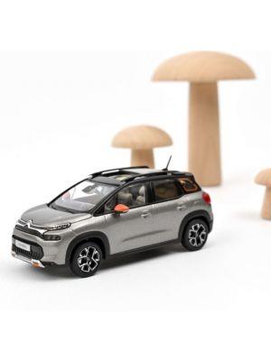 Norev 155336, Citroën C3 Aircross 2021, Platinium Grey, Black roof, Orange deco, 1:43, 3551091553366