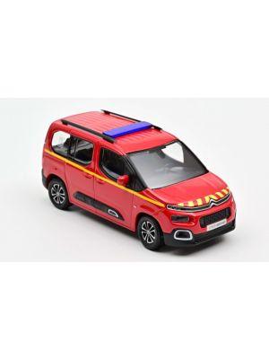 Norev 155764, Citroën Berlingo 2020, Pompiers, rot, 1:43, 3551091557647