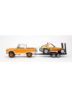 Revell 17228, Ford Bronco Half Cab, Anhänger, Sandman II, 1:25, 031445072284