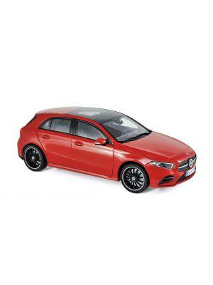 Norev 183594, Mercedes-Benz A-Klasse 2018, rot, 1:18, 3551091835943