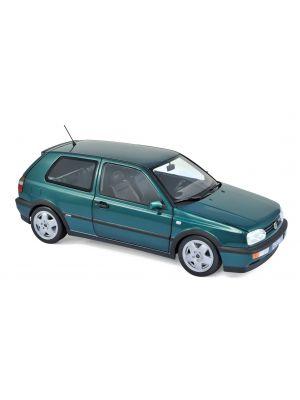 Norev 188437, VW GOLF VR6 1996, grün metallic, 1:18, 3551091884378