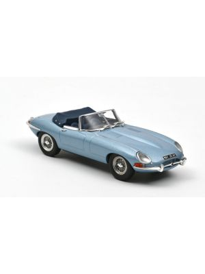 Norev 270064, Jaguar E-Type Cabriolet 1961, Blue metallic, 1:43, 3551092700646