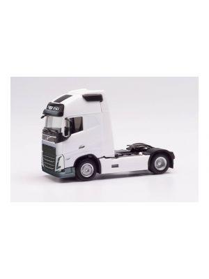 Herpa 313346, Volvo FH 16 Gl. XL 2020 Basic-Zugmaschine, weiß, 1:87, 4013150313346