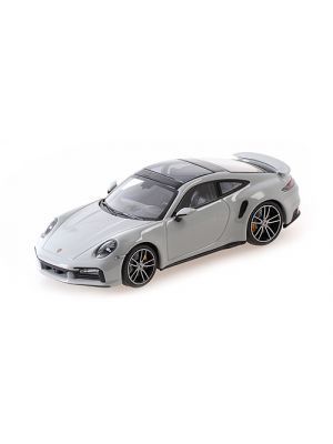 Minichamps 410069470, Porsche 911 (992) Turbo S, 2020, grau, 1:43, 4012138750388