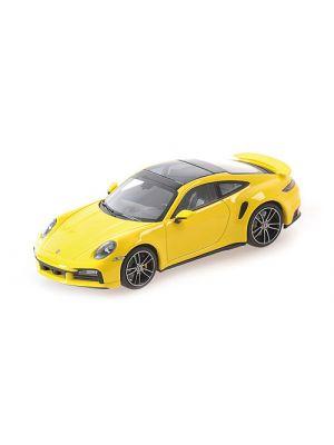 Minichamps 410069472, Porsche 911 (992) Turbo S, 2020, gelb, 1:43, 4012138750401