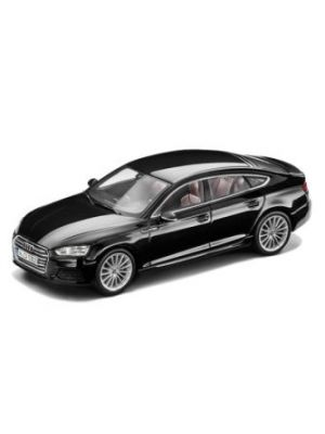 iScale 5011605033, Audi A5 Sportback 2016 in schwarz, Maßstab 1:43, 2160000042139