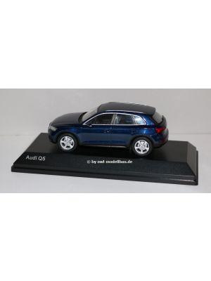 iScale 5011605632, Audi Q5, 2016, navara blue, 1:43