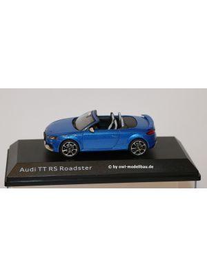 iScale 5011610532, Audi TT RS Roadster, 2017, arablau metallic, 1:43, 2160000042627