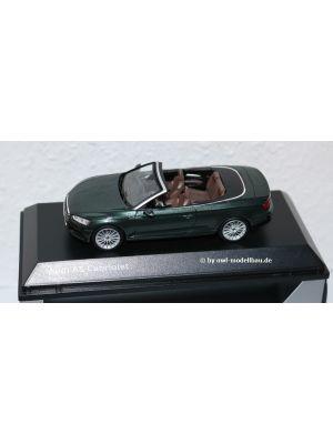 iScale 5011705333, Audi A5 Cabriolet, 2017, Gotlandgrün, 1:43, 2160000045239