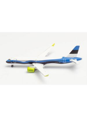 Herpa Wings 533942, airBaltic Airbus A220-300, Estonia, 1:500, 4013150533942