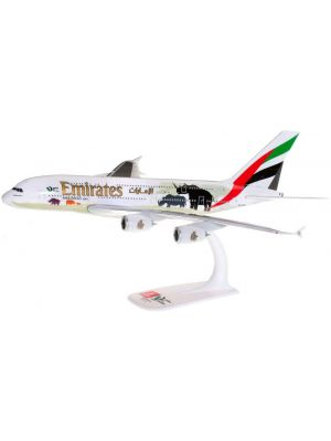 Herpa Wings Snap Fit 612180, Emirates Airbus A380, United for Wildlife, 1:250, 4013150612180