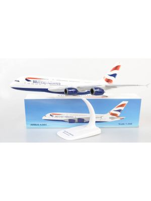 Herpa Wings Snap Fit 612814, British Airways Airbus A380-800, 1:250, 4013150612814
