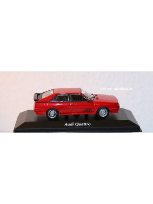 Maxichamps 940019420, Audi Quattro, 1981, rot 1:43, 4012138169791