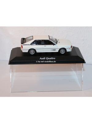 Maxichamps 940019421, Audi Quattro, 1981, weiss 1:43, 4012138169807