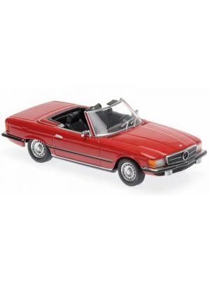 Maxichamps 940033432, Mercedes Benz 350 SL, rot, 1:43, 4012138154483