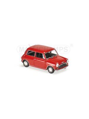 940138600 Minichamps, MORRIS MINI 850 MK I, 1960, Rot, 1:43, 4012138134973