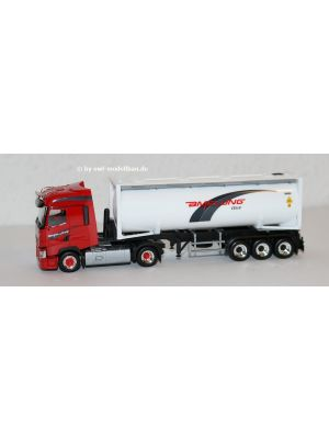 Herpa 940818, Renault T 30 ft Drucksilocontainer-Sattelzug, Amelung, Celle