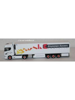 Herpa 942003, Scania CS 20 HD Kühlkoffer-Sattelzug, Krummen Kerzers, 1:87, 4013150942003