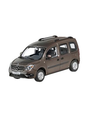 B66004124 Minichamps, Mercedes Benz, Citan Kastenwagen braun metallic, 1:43