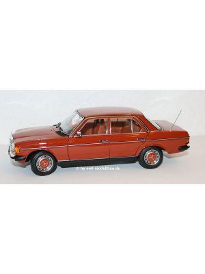 Norev B66040653 , Mercedes Benz 200 (W123) Limousine, 1980, Enlischrot, 1:18
