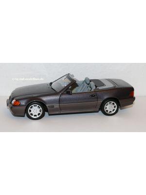 Norev B66040655, Mercedes-Benz 500 SL (R129) Roadster, 1989 - 95, bornit metallic, 1:18