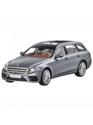 iScale B66960381, Mercedes-Benz E-Klasse T-Modell AMG Line S213, 2016, Selenitgrau, 1:43