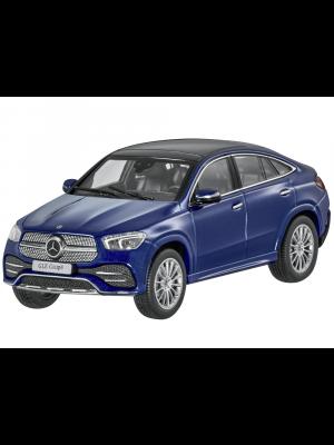 iScale B66960820, Mercedes Benz GLE Coupé AMG Line (C167) , 2020, Brilliantblau, 1:43