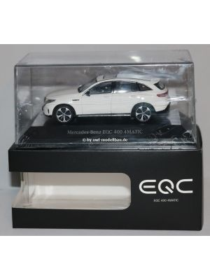 Minimax B66963755, Mercedes Benz EQC 400 4MATIC (N293), 2019, Polarweiß, 1:43
