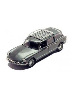 ixo models clc3326N, Citröen ID 19 Break, 1960, grau metallic, 1:43, 4895102327522