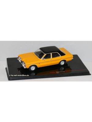 ixo Models CLC344N, FORD TAUNUS GXL, 1983, dunkelgelb/schwarz, 1:43, 4895102328901