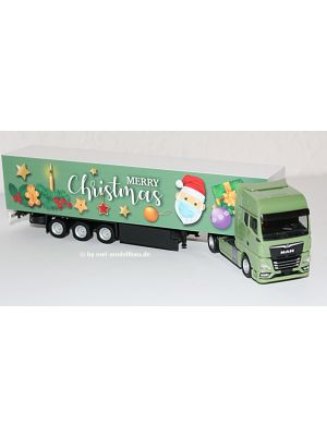 Herpa 313209, MAN TGX GX Koffer-Sattelzug, 1. Advent 2020, 1:87, 4013150313209