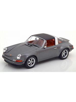 KK-Scale 180471, Singer Porsche 911 Targa, anthrazit, 1:18