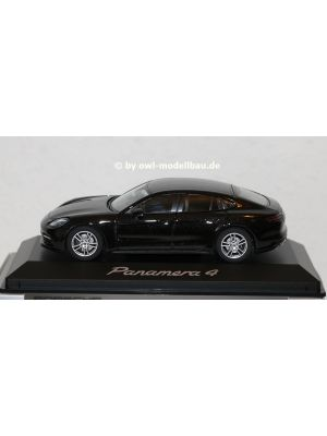 Herpa WAP0207100G, Porsche Panamera 4 Turbo (2. Generation), 2016, schwarz metallic, 1:43